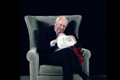 Sacha Baron Cohen Teases New Show with Video of Dick Cheney Signing 'Waterboard Kit'
