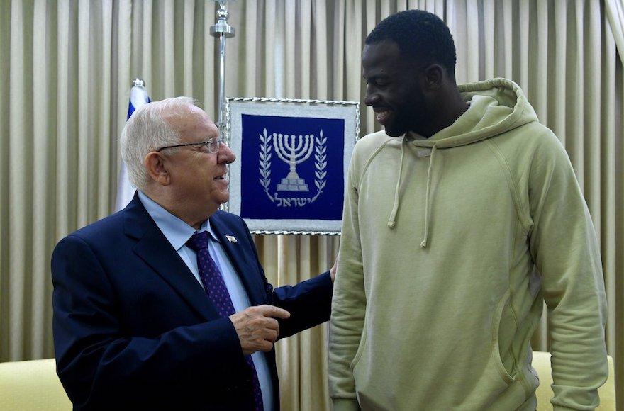 Golden State Warriors Star Draymond Green Visits Israel