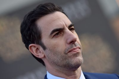 Sacha Baron Cohen's Newest Character is an Israeli Gunslinger Taking Aim at Pro-Israel Conservatives