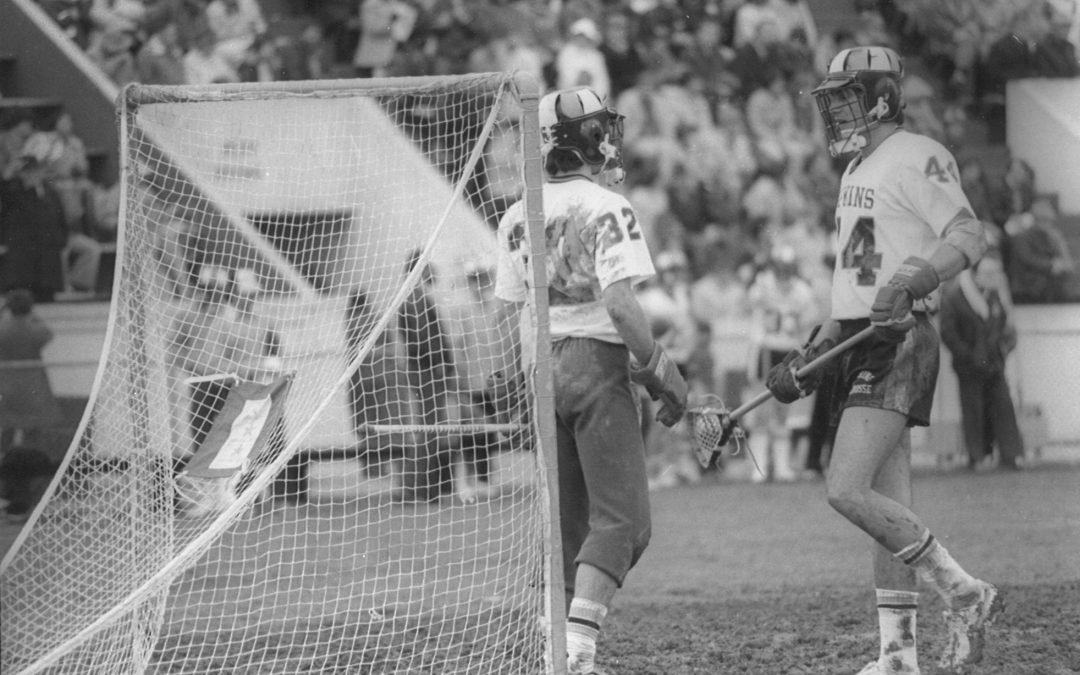 Ex-Lacrosse Star Mark Greenberg to be Inducted into Md. Athletic Hall of Fame