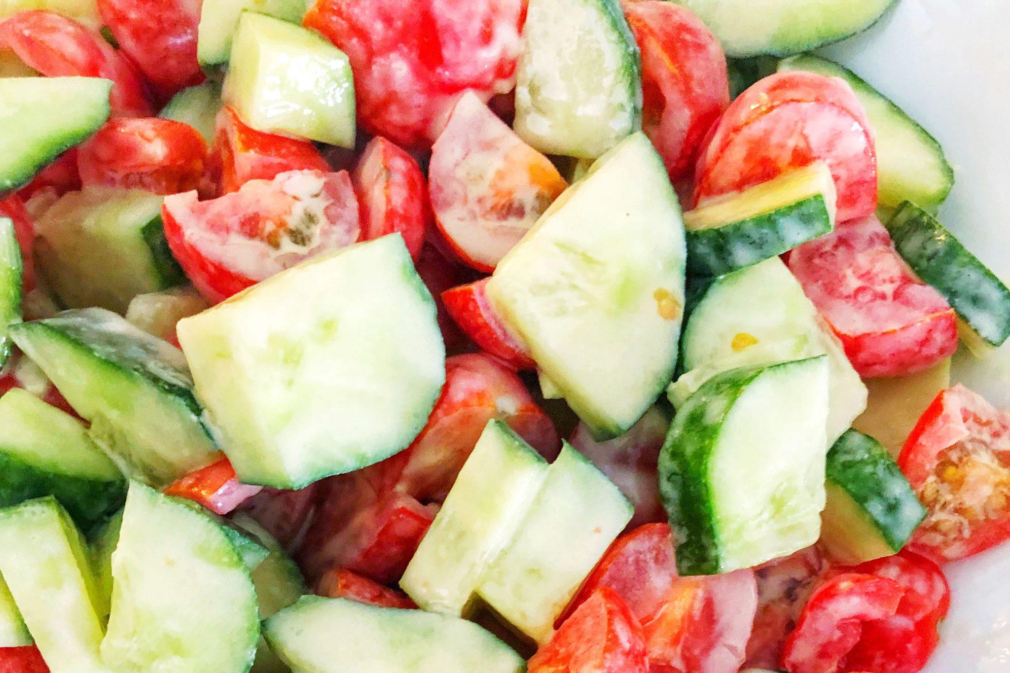 Creamy Tahini Salad