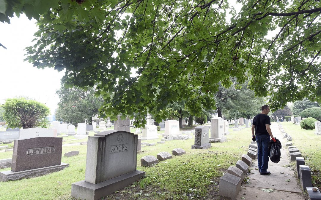 JVC Day to Unite Includes Hebrew Friendship Cemetery Cleanup