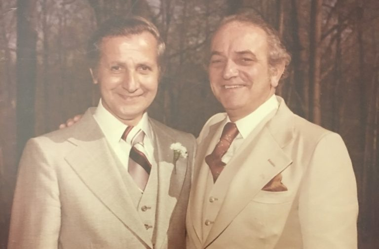 Edward, at left, and Louis Cohen
