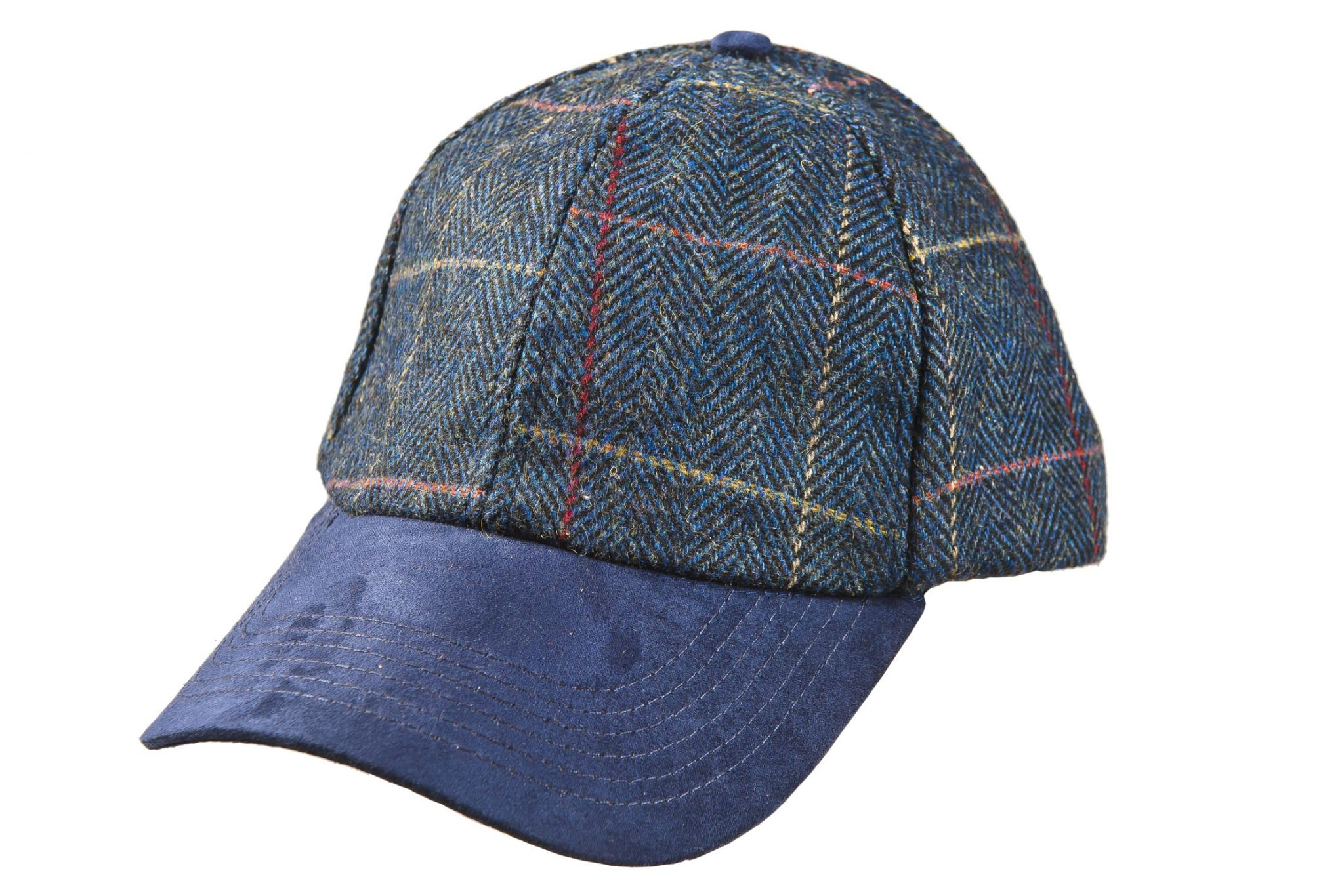 Classic tweed ball cap