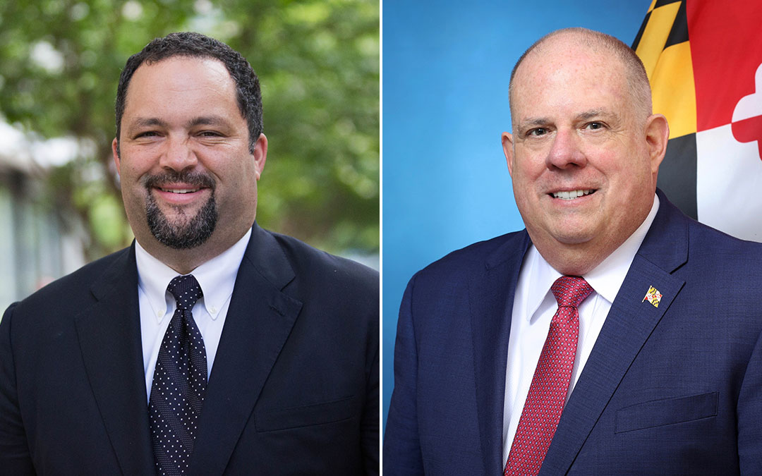 Gov. Hogan and His Democratic Rival, Ben Jealous, Discuss Md.-Israel Ties