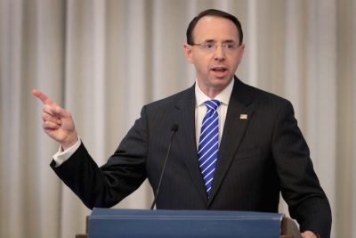 Rod Rosenstein Plans to Leave Position When New AG Confirmed