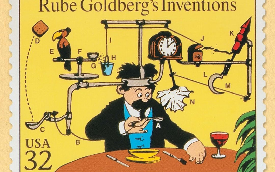 Rube Goldberg Exhibition Opens at Jewish History Museum in Philly
