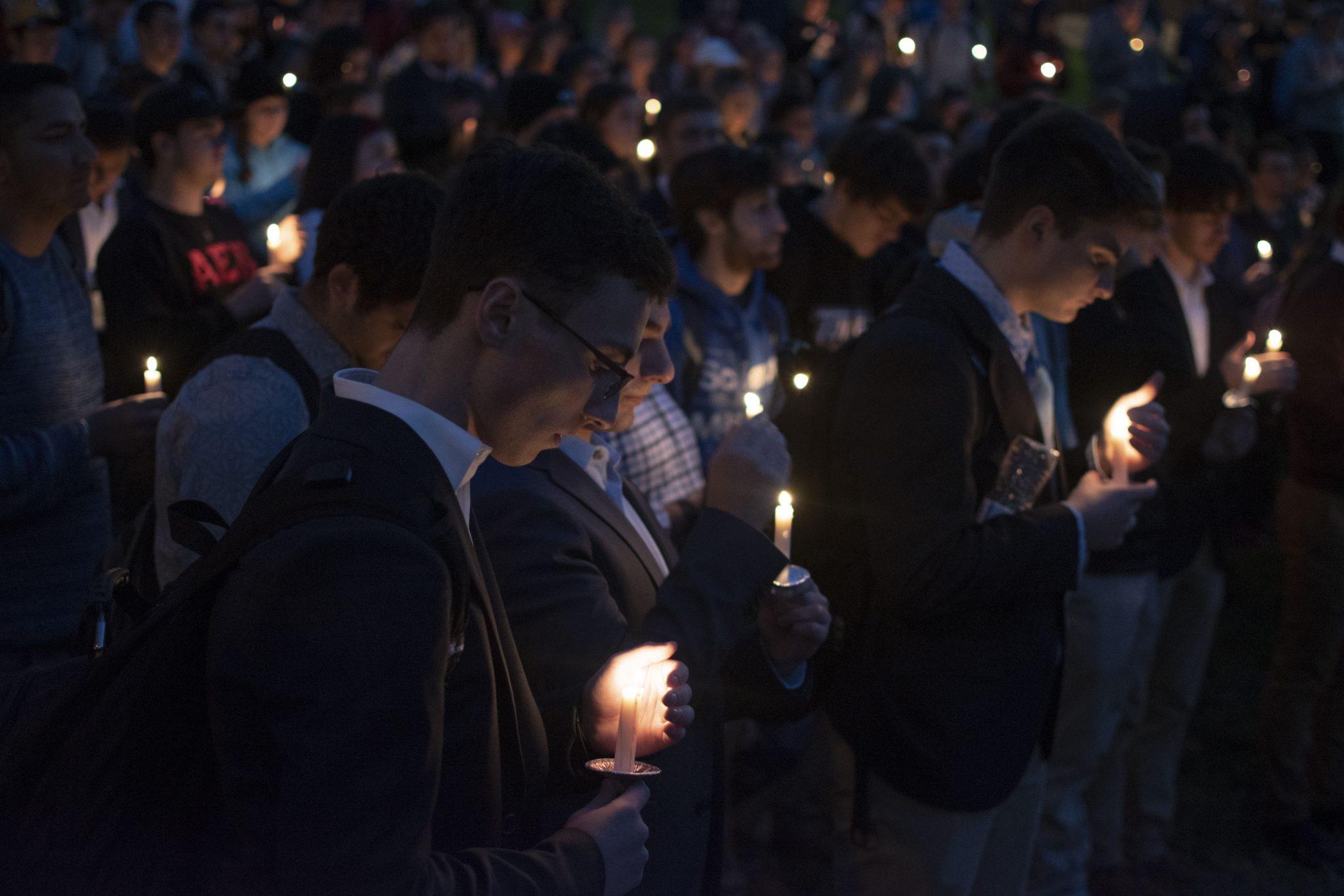 Towson vigil