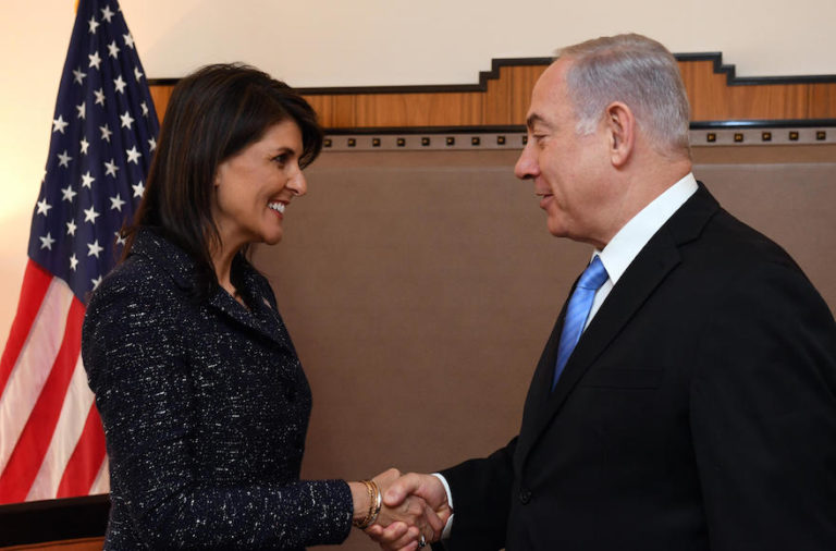 Nikki Haley, Fierce Defender of Israel, Resigns as US Ambassador to the UN