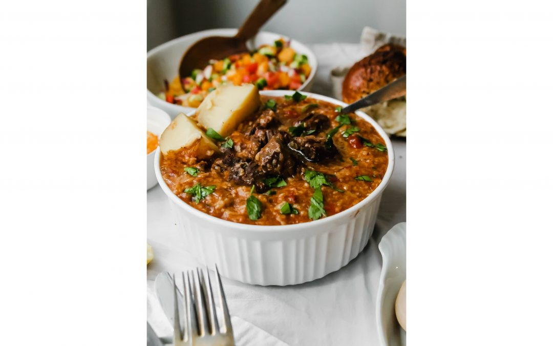 This Bukharian Jewish Meaty Rice Dish is the Crockpot Meal You Need