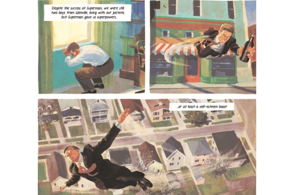 Joe Shuster graphic novel