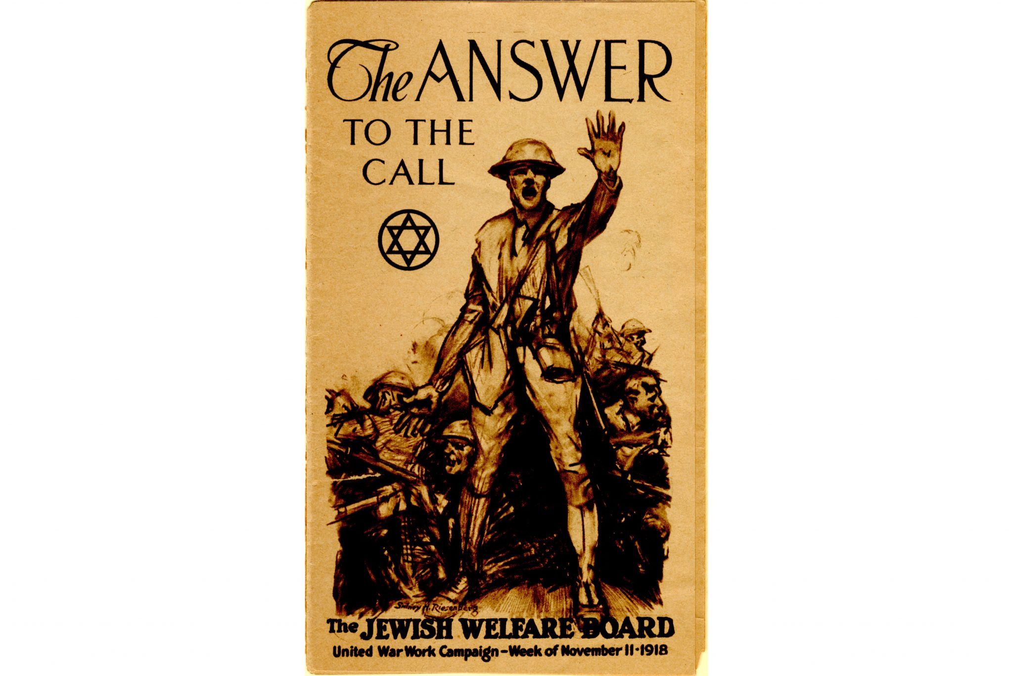 100 Americanism an exhibit on jewish life during world war i energizes a