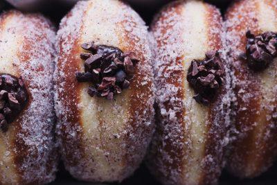 Chocolate Babka Doughnuts