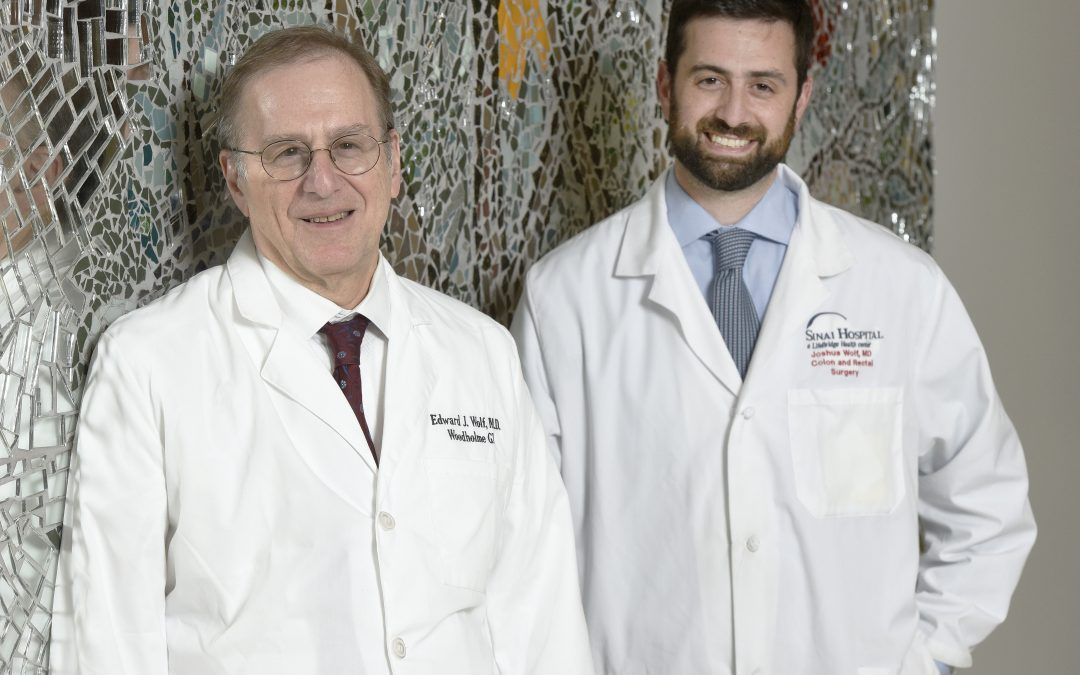 Father-and-Son Docs Edward & Joshua Wolf Share Patients and a Love for Medicine