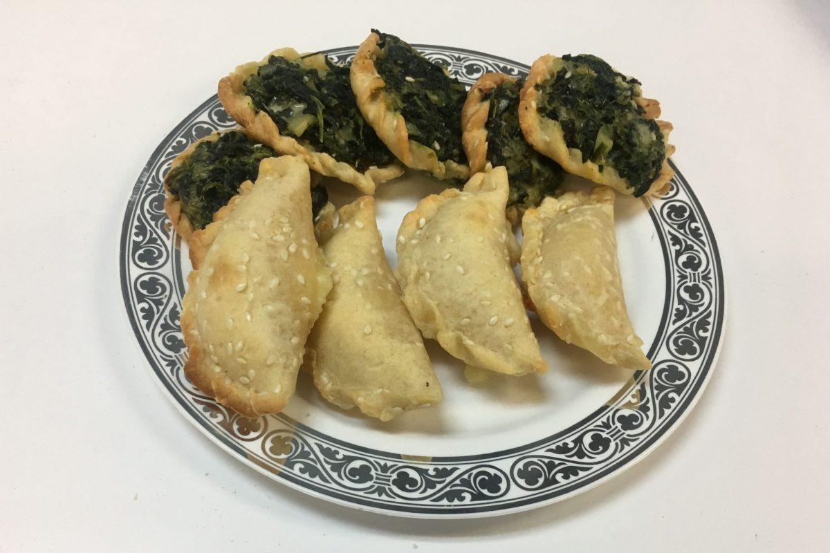 Gluten-free cheese sambusaks