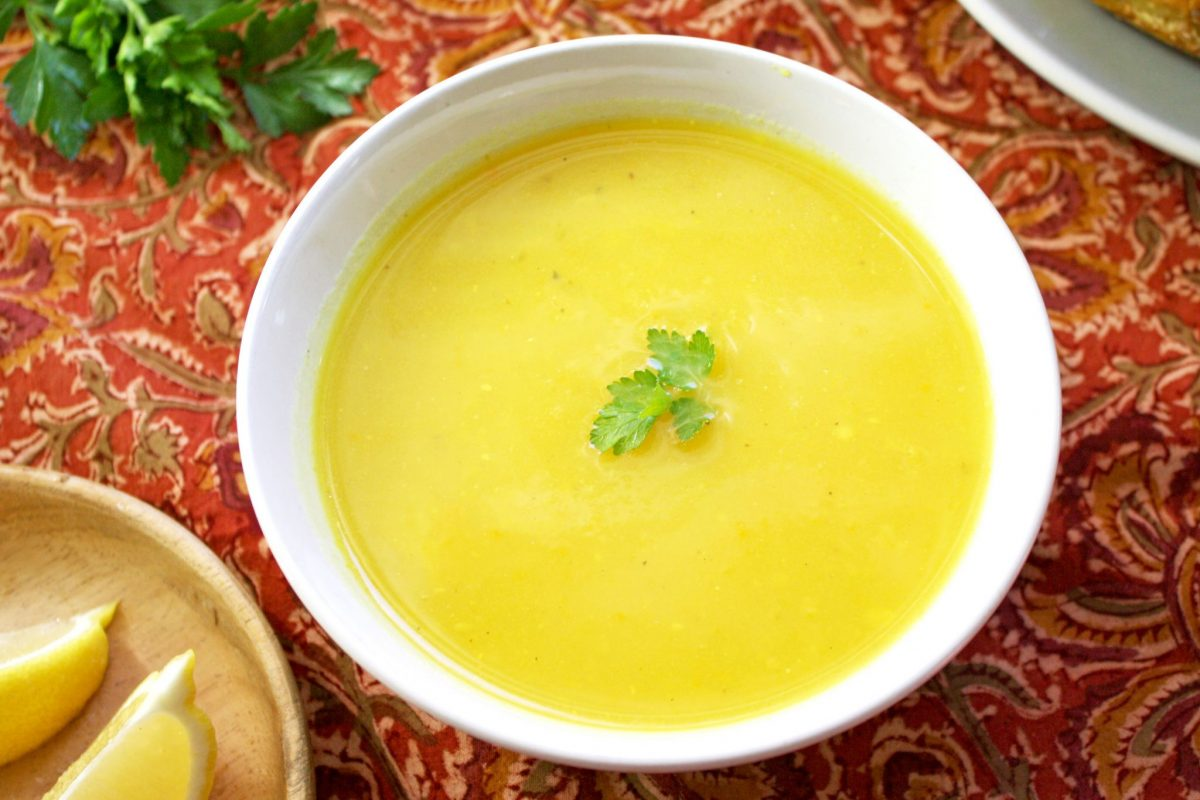 Egyptian Golden Potato Soup