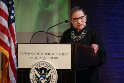 Ruth Bader Ginsburg Returns to Supreme Court for 1st Time Since Cancer Operation
