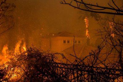 California Wildfires Provide Glimpse into Human Spirit