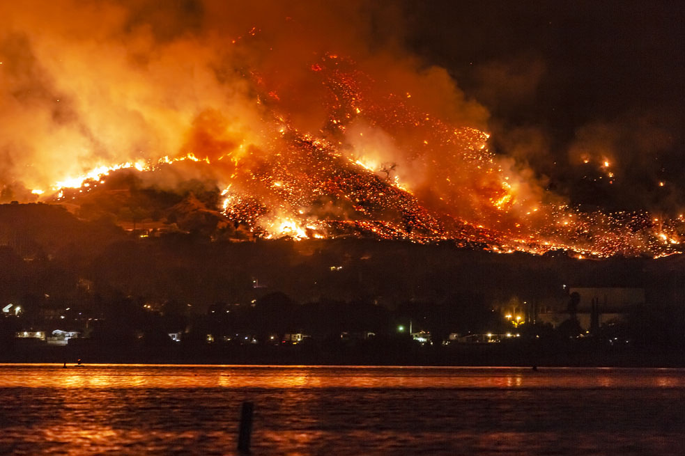 The Frightening Truth about the California Wildfires