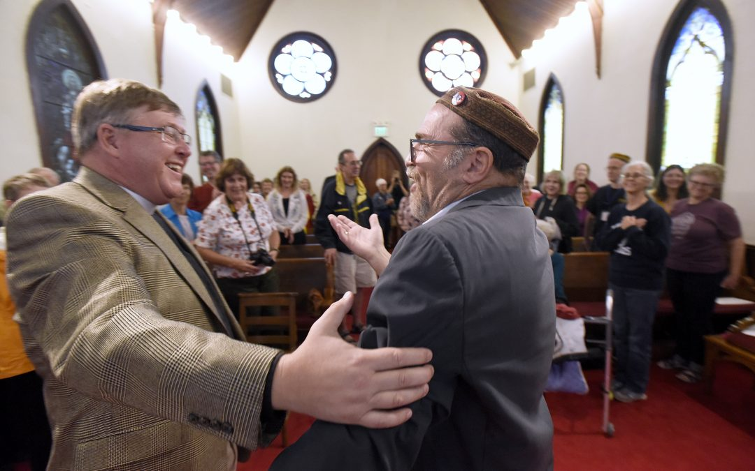 Lutherville Synagogue and Church Celebrate their Common Ground