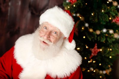 This Santa Claus is an Orthodox Jew