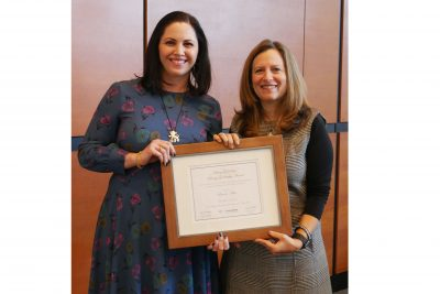 Associated Presents Annual Greenstein Award to Young Leaders