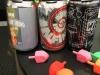 Beer and dreidels