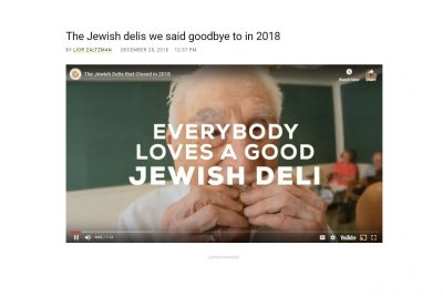 The Jewish Delis We Said Goodbye to in 2018