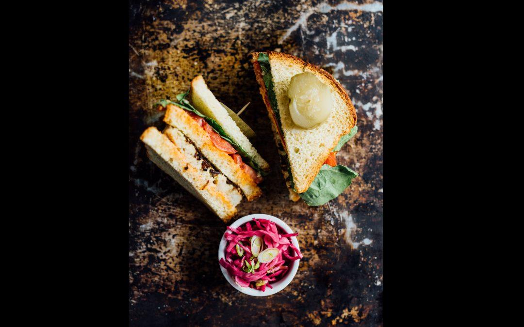 Fletcher's Homemade Gefilte Fish and Sandwich