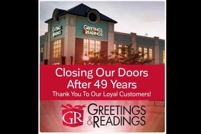 Greetings & Readings to Close Next Month — Baltimore Fishbowl