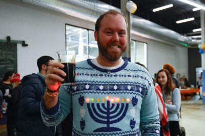 'Chanukah Brew Ha Ha' Lights Up Union Collective