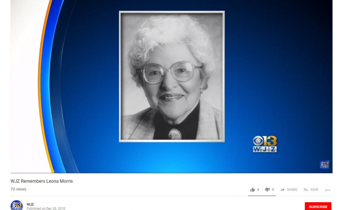 Educator, Media Personality Leona S. Morris Dies at 104