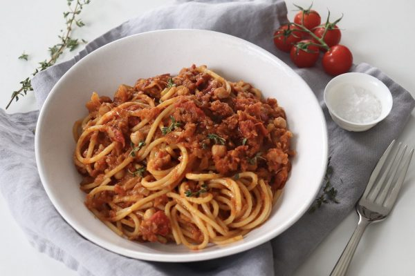 Chickpea Bolognese