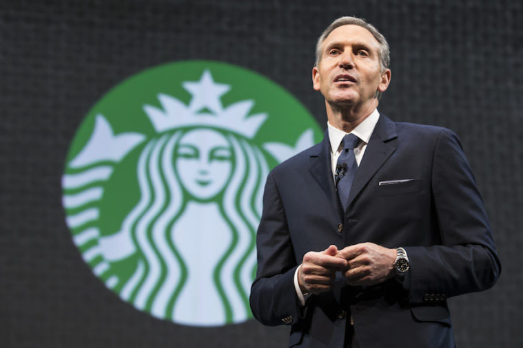 Former Starbucks CEO Howard Schultz is 'Seriously Thinking of Running for President'