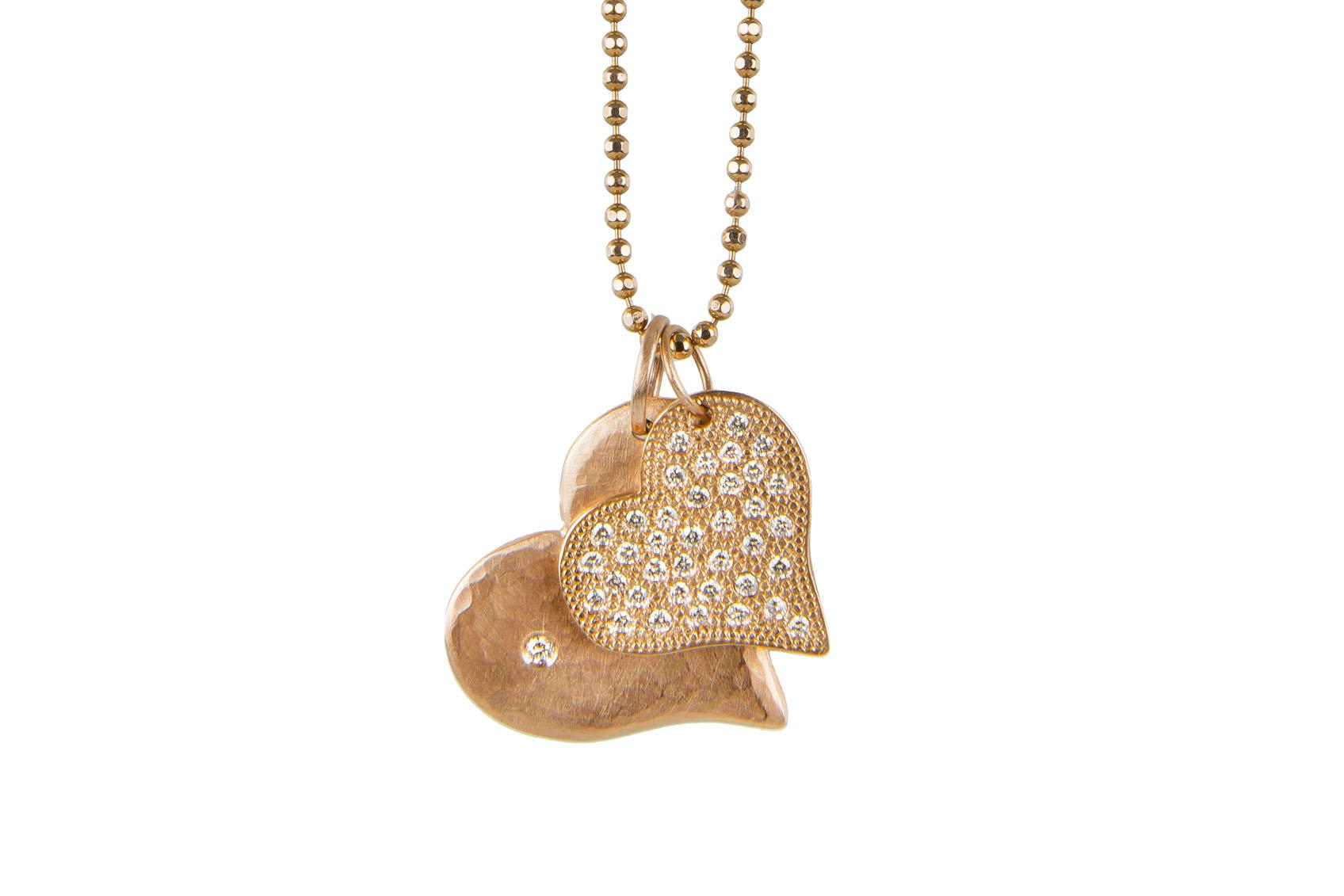 Rose gold pendants