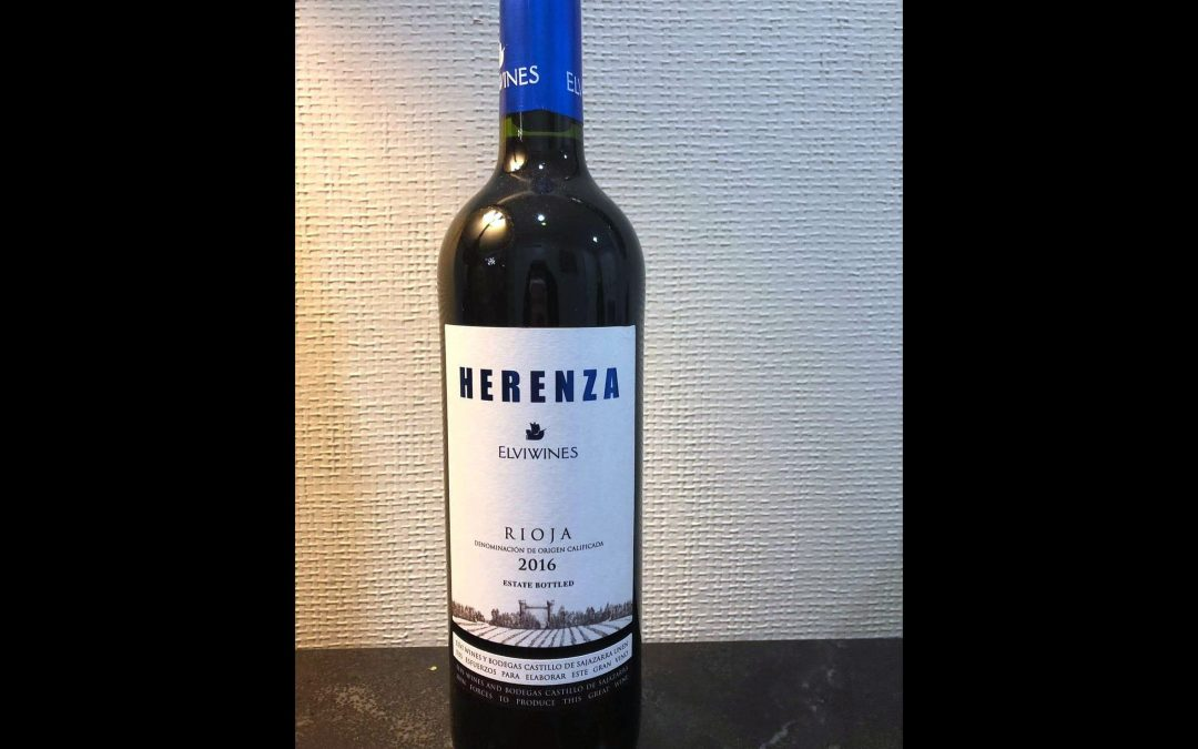 The Kosher Decanter: Elvi Herenza Rioja