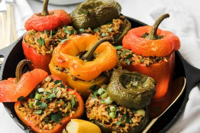 Persian-Inspired Stuffed Peppers
