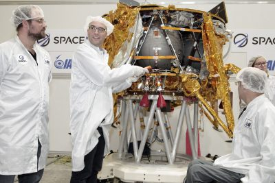 Will Israel be the Fourth Country to Land on the Moon?