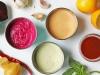 Tahini sauce three ways