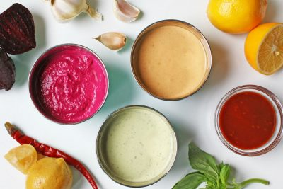 3 Easy Tahini Sauces