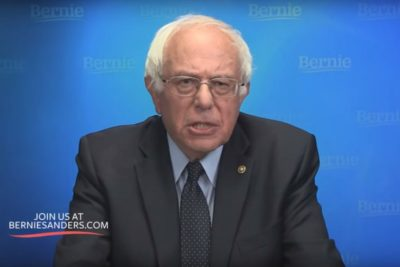 Bernie Sanders Launches 2020 Presidential Run