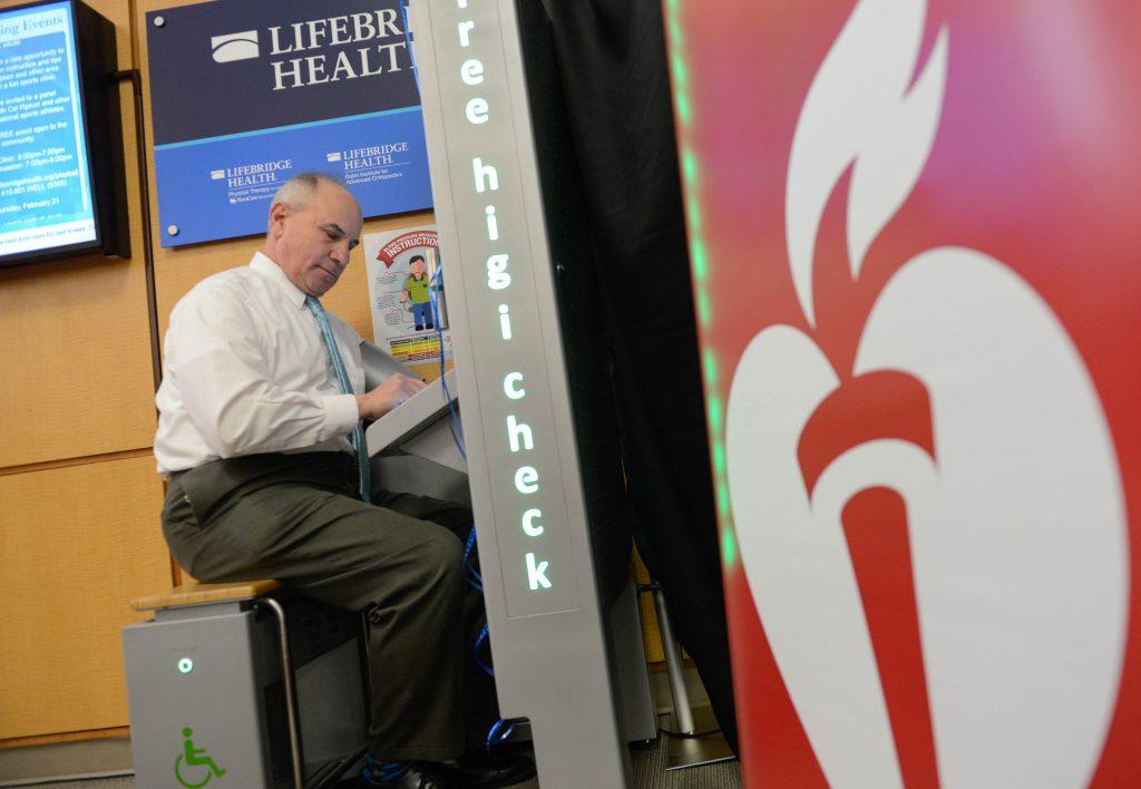 Blood Pressure Kiosk