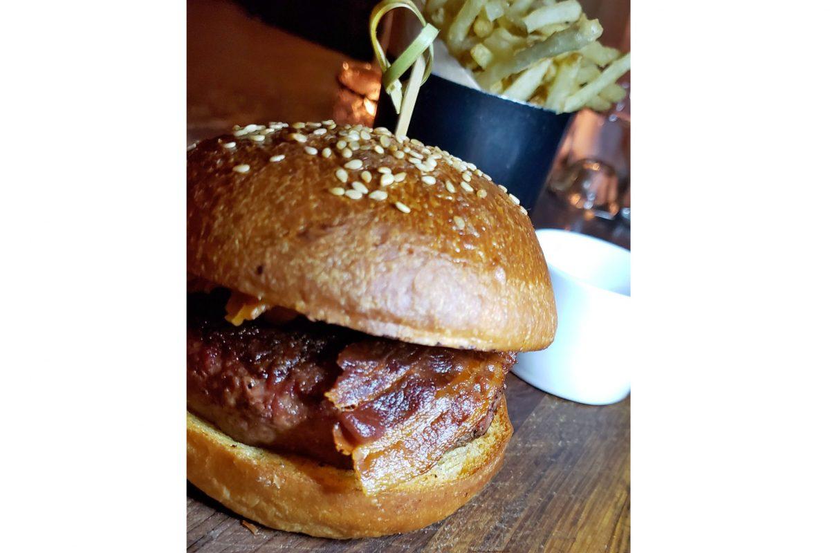 Rye Street burger