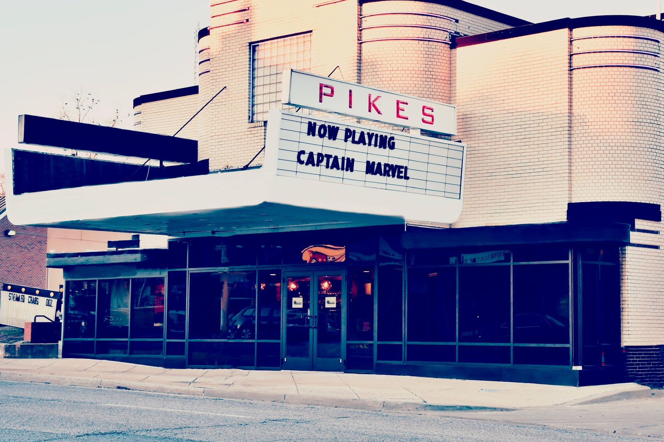 The historic Pikes Theatre