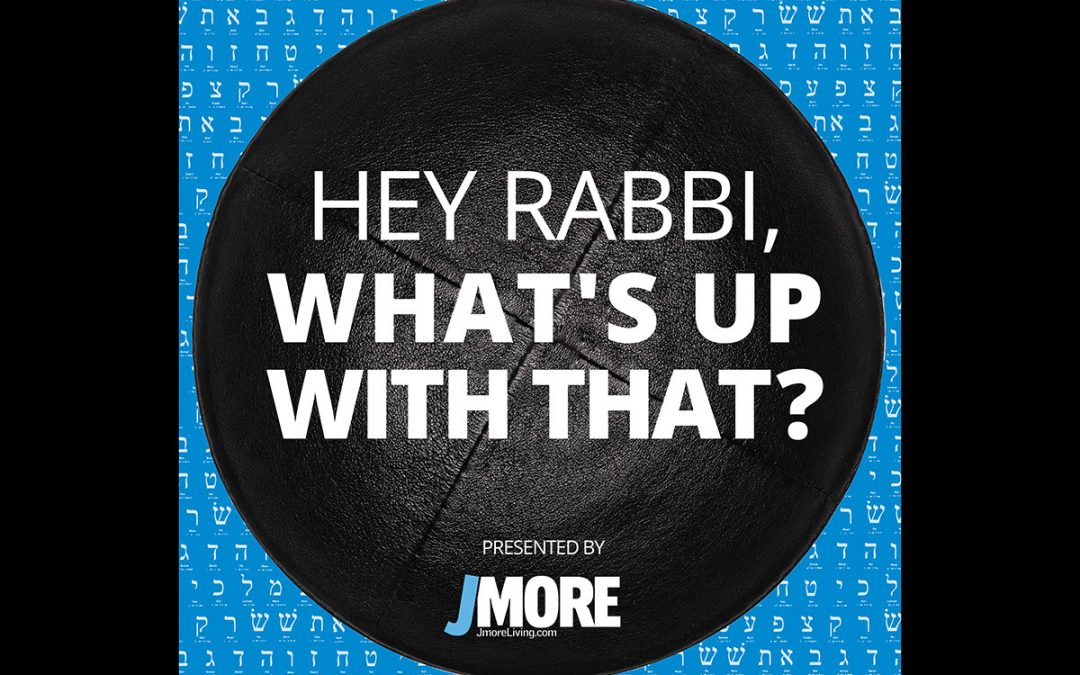 Introducing 'Hey Rabbi, What's Up With That?'
