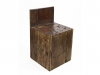 Milo solid wood reclaimed chair