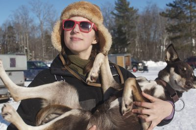 Blair Braverman Becomes 1st Jewish Woman to Finish Iditarod Sled Dog Race