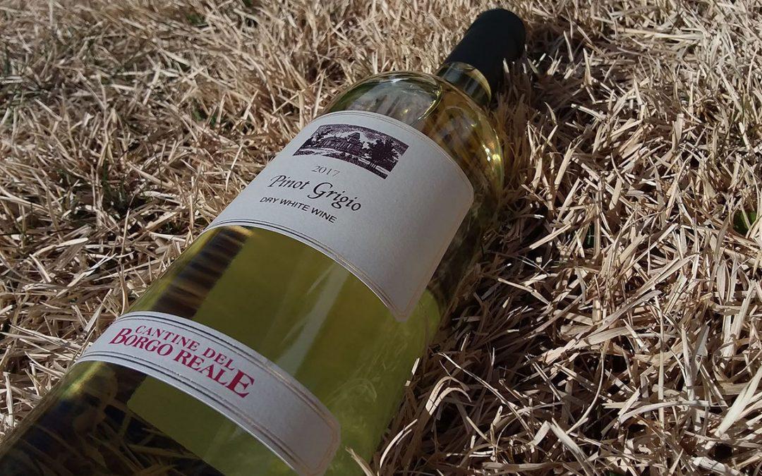 The Kosher Decanter: Cantine del Borgo Reale Pinot Grigio