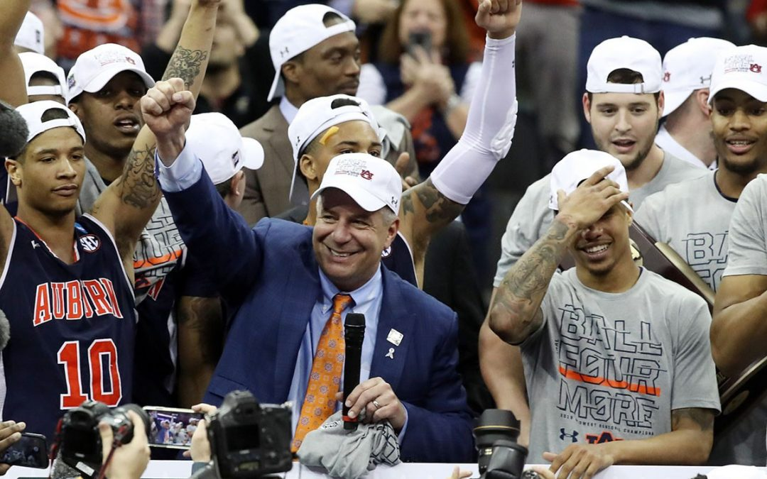 Bruce Pearl Coaches Auburn to its 1st NCAA Men's Basketball Final Four