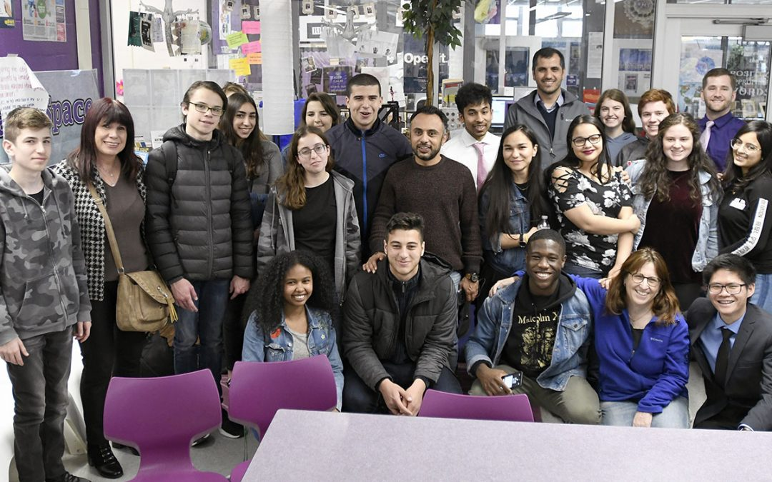 Arab and Jewish Israeli Students Visit Pikesville High School